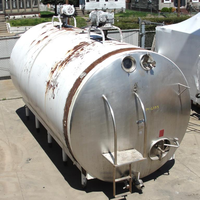 Stainless Steel Tanks: Used 6000 gallon Dairy Craft